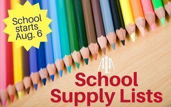 ALA Gilbert North Supply List