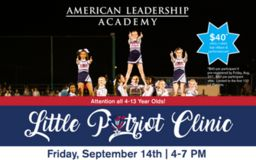 Little Patriot Cheer Clinic