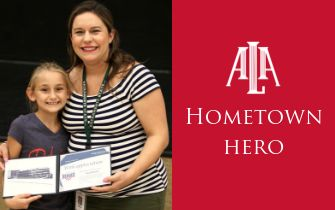ALA Teacher Named Hometown Hero by Modern Woodmen