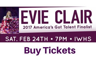 Evie Clair Tickets Here!