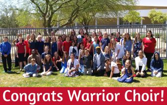 Warriors Choir Receive Superior Rating
