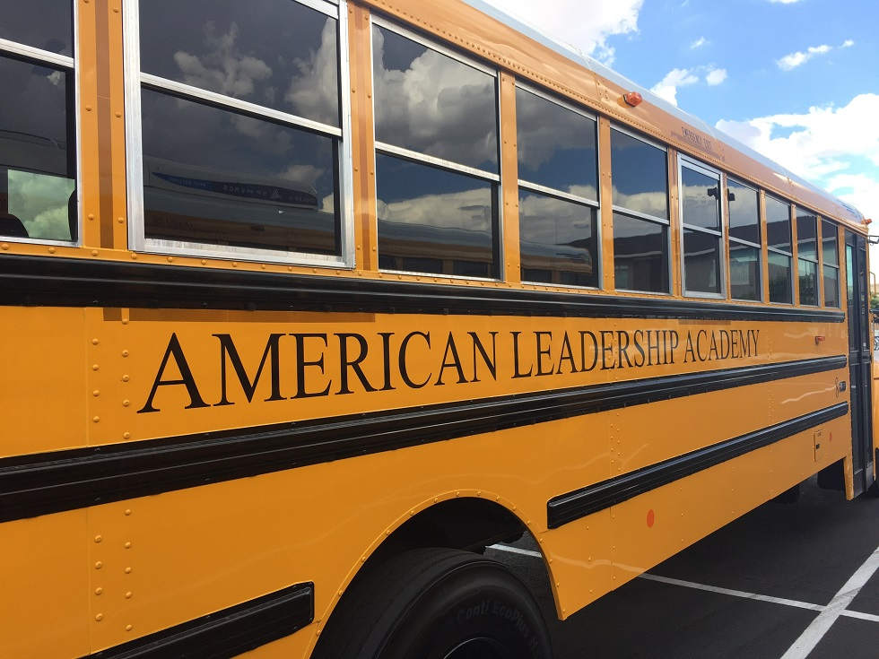 American Leadership Academy Bus